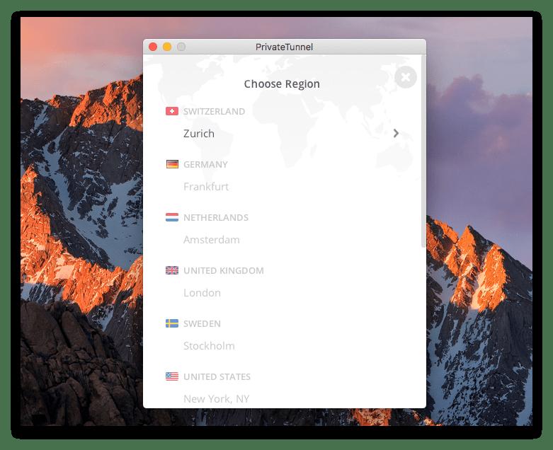 12 phần mềm VPN miễn phí cho Mac bảo đảm riêng tư cho bạn 9