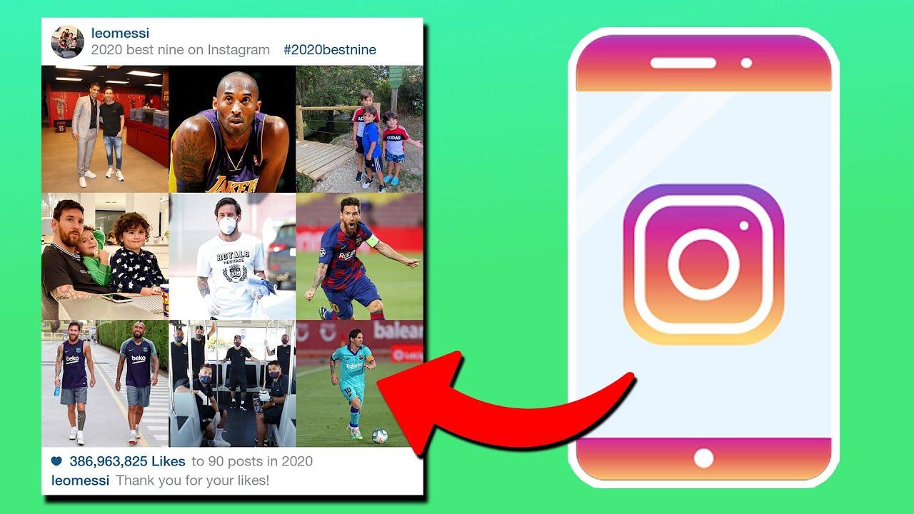 2021 rồi bạn đã biết cách chia sẻ top 9 ảnh hot nhất trên Instagram chưa? 3