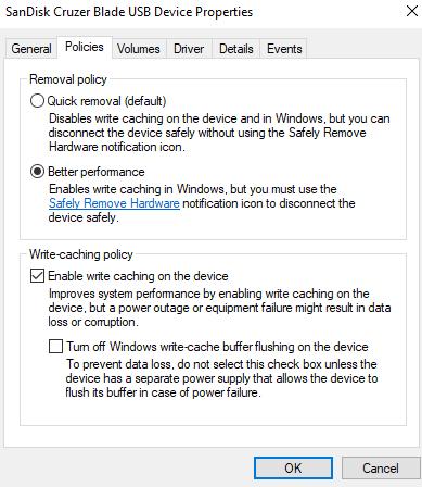 Tăng tốc độ copy cho USB trên Windows 10 ai cũng nên biết 18