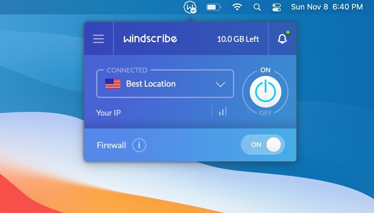 12 phần mềm VPN miễn phí cho Mac bảo đảm riêng tư cho bạn 14
