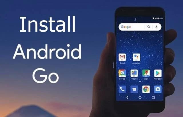 cách cài Android Go cho điện thoại 00