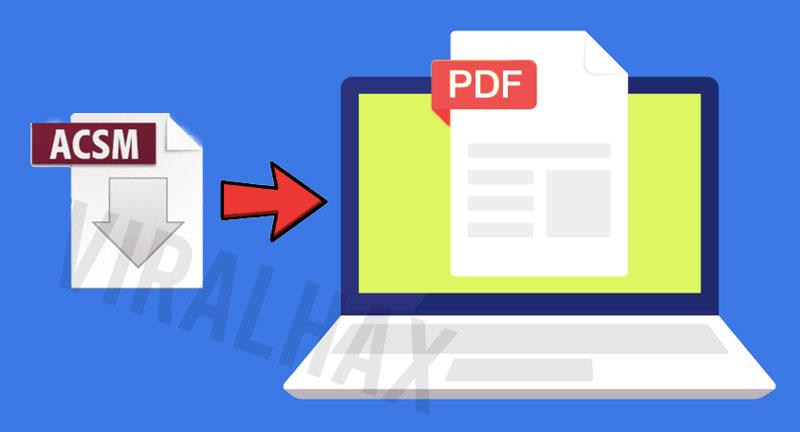 Công cụ chuyển đổi file ACSM sang PDF trực tuyến miễn phí 4