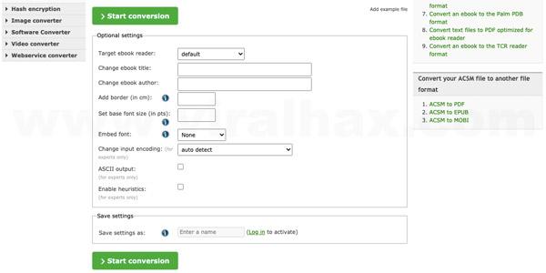 Công cụ chuyển đổi file ACSM sang PDF trực tuyến miễn phí 6