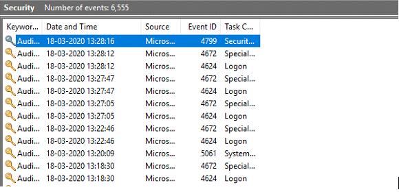 Ooops. Có ai đang theo dõi máy tính của bạn không? 12