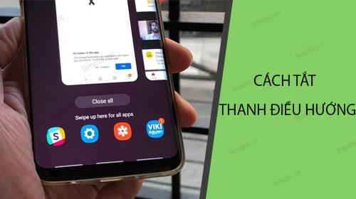 Hướng dẫn cách ẩn thanh điều hướng điện thoại Android mới nhất 2021 1