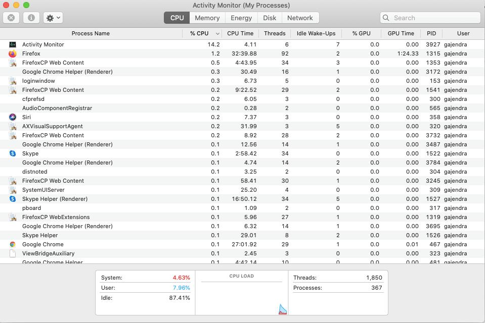 4 cách chữa cháy camera MacBook không hoạt động 6