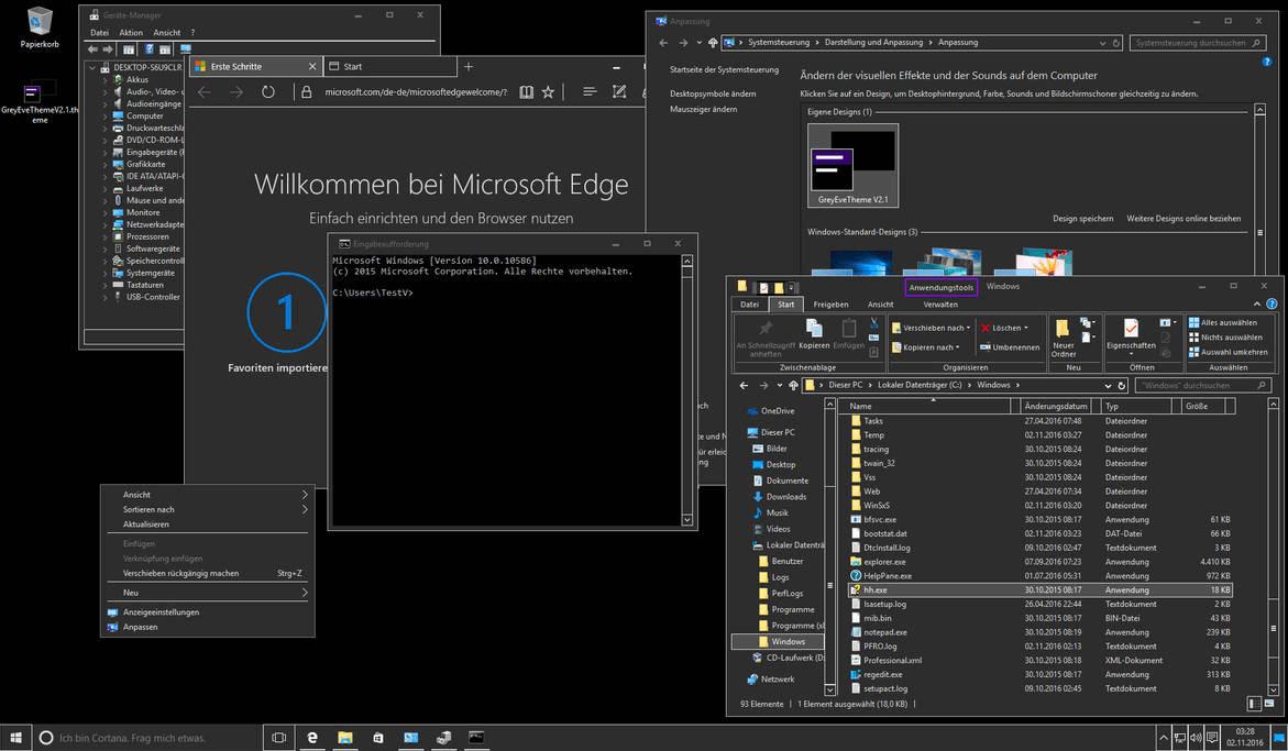 10 chủ đề 'tăm tối' trên Windows 10 cho những người yêu thích bóng đêm 10