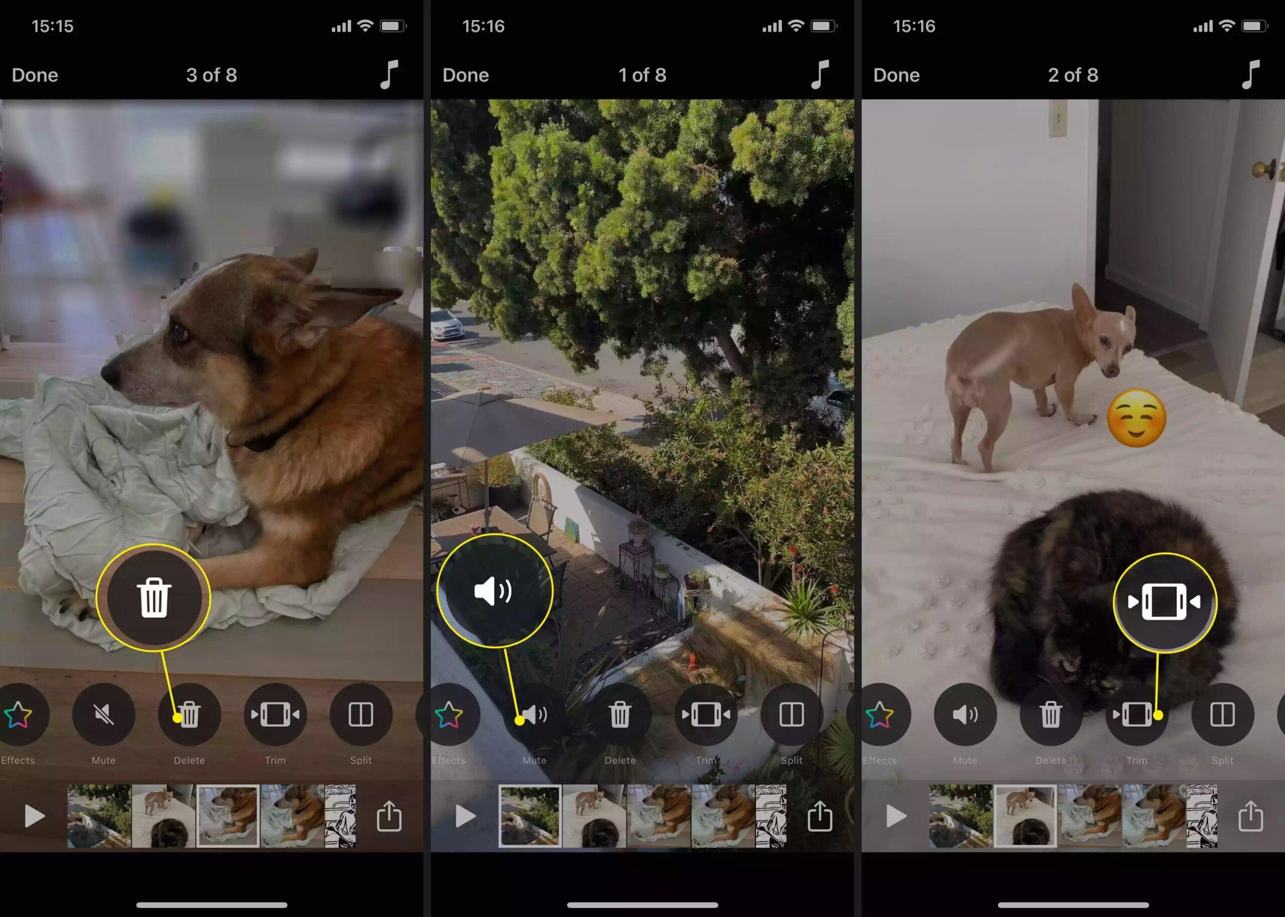 Cách làm video trên iPhone bằng app Clips có sẵn 25