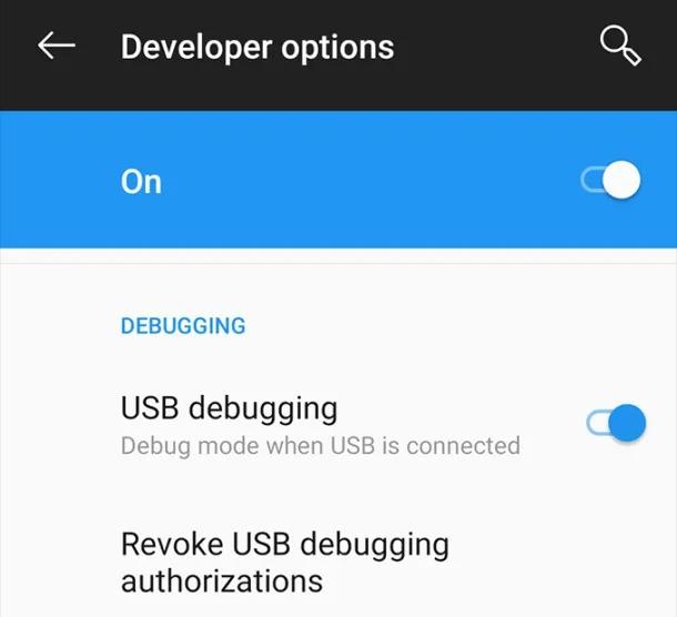 Cách cài đặt file APK từ máy tính lên thiết bị Android 2