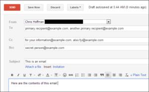 Bcc là gì? Gửi email thường xuyên mà không biết cách dùng Bcc thì không được đâu nhé 6