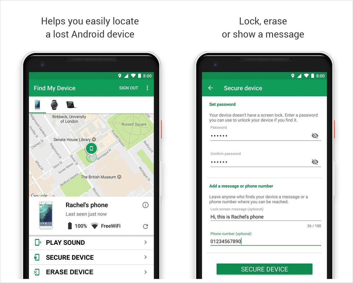 Cách tìm điện thoại Android bị mất 7