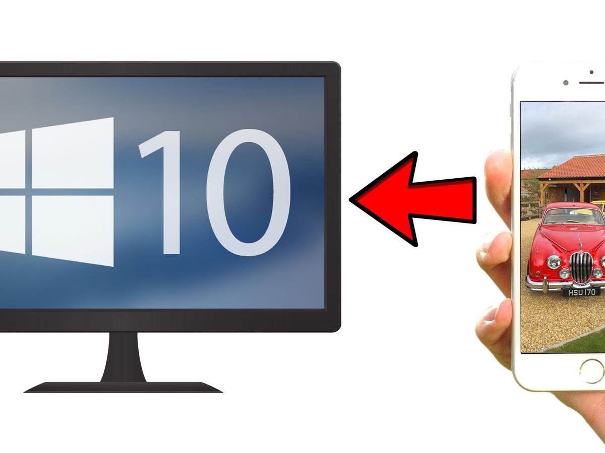 Cách copy ảnh từ iPhone vào máy tính Windows.