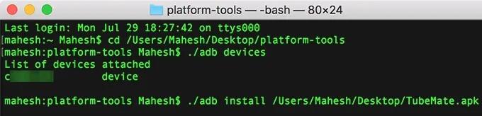 Cách cài đặt file APK từ máy tính lên thiết bị Android 12