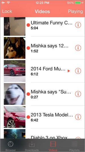 Top 10 phần mềm tải video cho iPhone tốt nhất 1