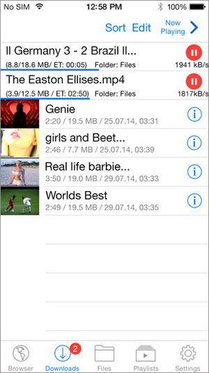 Top 10 phần mềm tải video cho iPhone tốt nhất 6