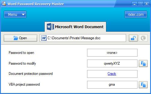 Tổng hợp công cụ khôi phục password cho file Word hiệu quả 10