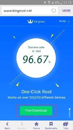 Phần mềm root máy Android trực tiếp trên điện thoại tốt nhất hiện nay 10