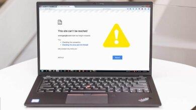 Khắc phục nhanh lỗi có mạng nhưng không thể truy cập trang web này 65