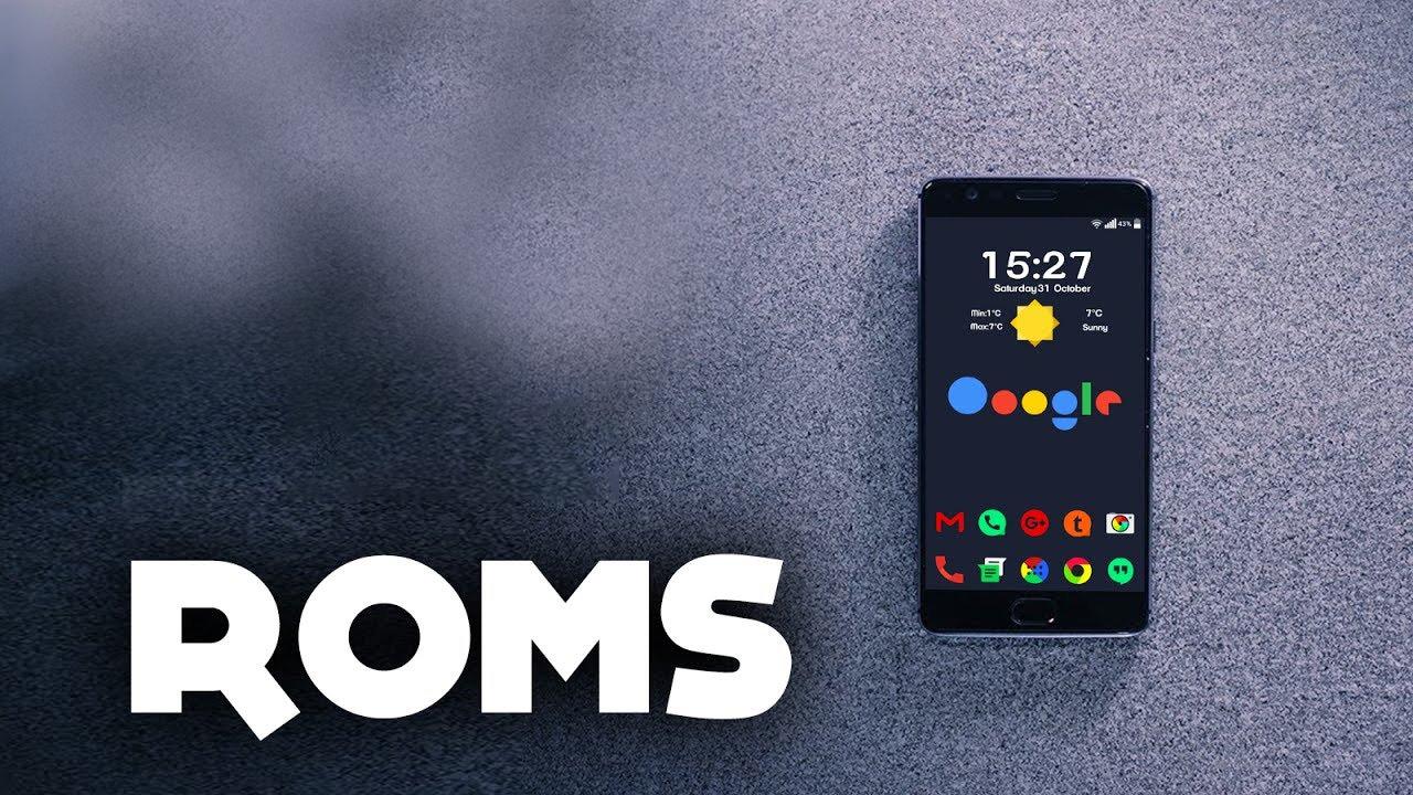 ROM Android là gì.