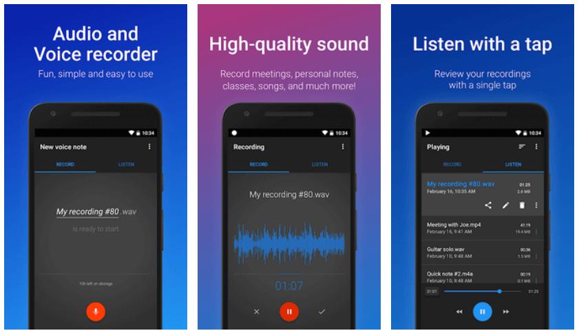 Tổng hợp ứng dụng thu âm trên điện thoại chất lượng cao để hát tặng crush 6