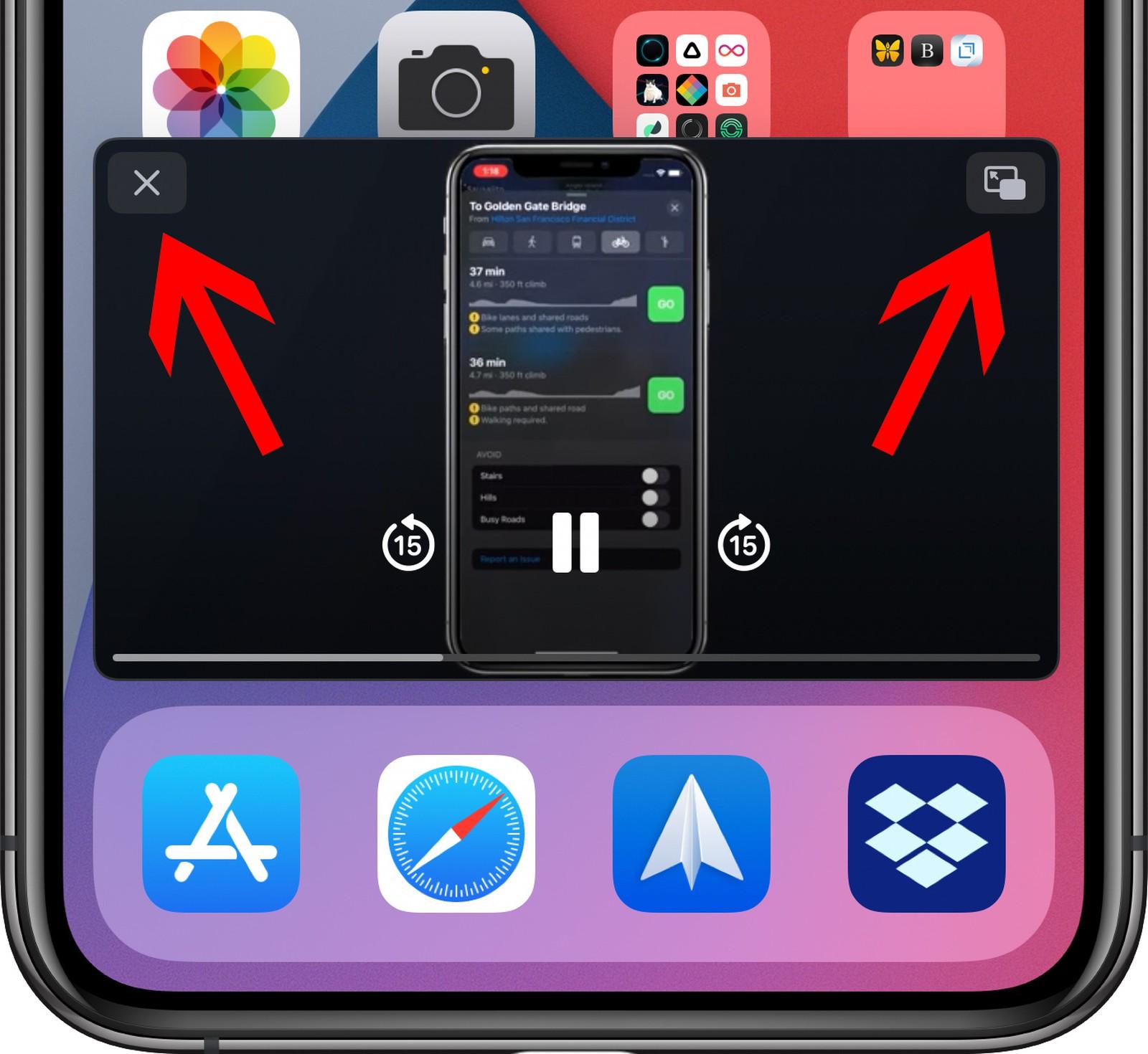 Cách thu nhỏ YouTube iPhone để xem YouTube trong khi làm việc khác 8