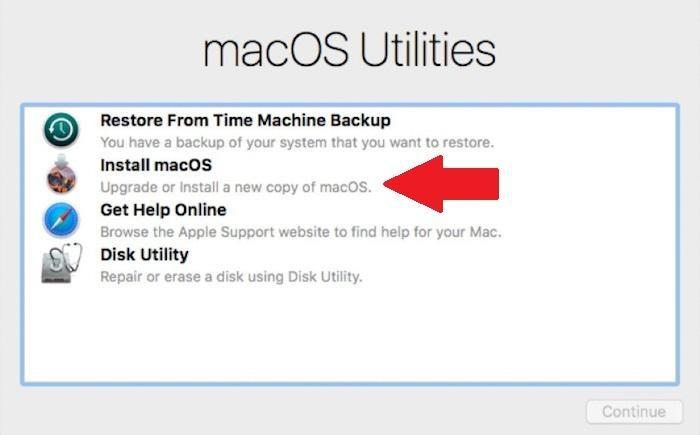 Cách reset macOS đưa máy tính về tình trạng như mới 9