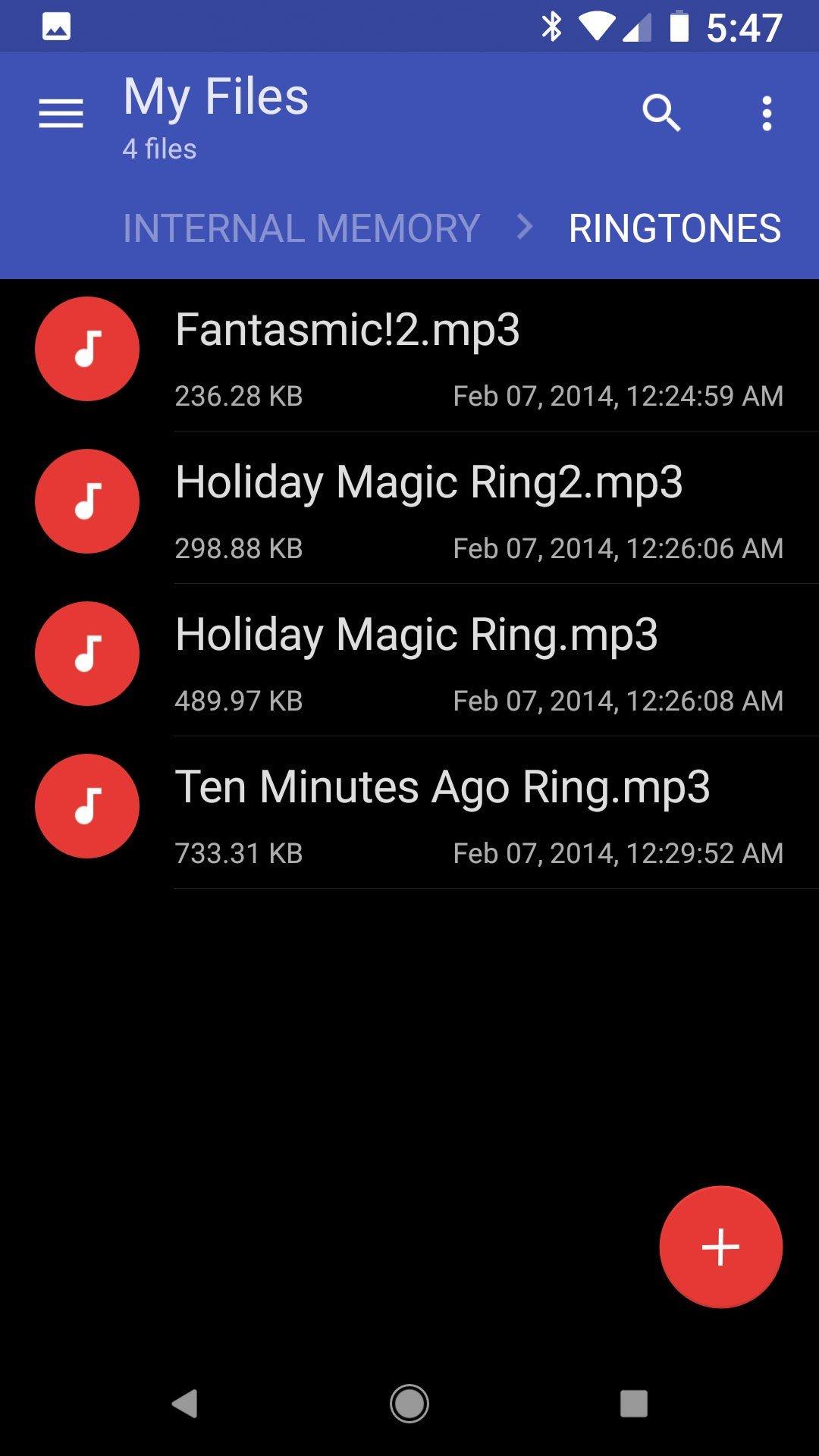 tự tạo nhạc chuông cho Android