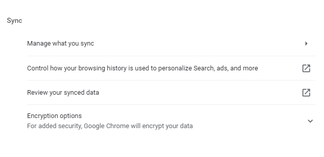 Sao lưu dữ liệu Chrome: đồng bộ hóa dữ liệu của bạn trên tất cả các thiết bị 4