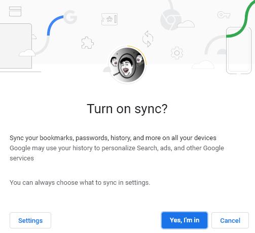 Sao lưu dữ liệu Chrome: đồng bộ hóa dữ liệu của bạn trên tất cả các thiết bị 3