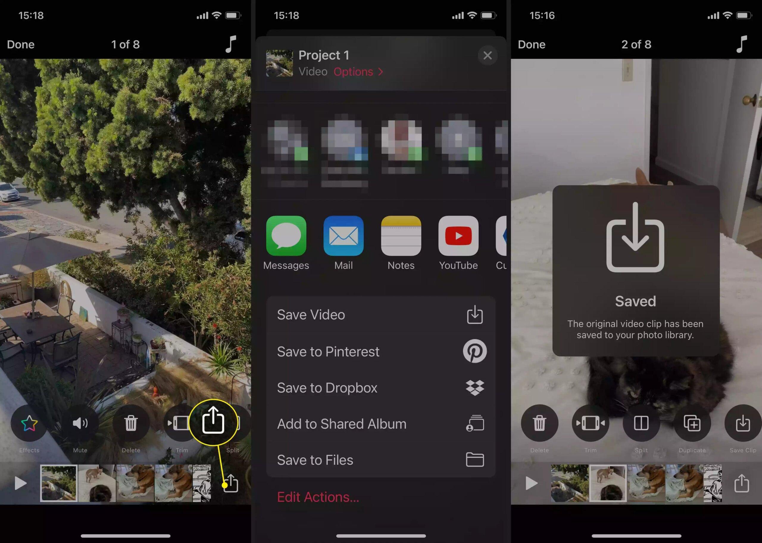 Cách làm video trên iPhone bằng app Clips có sẵn 30