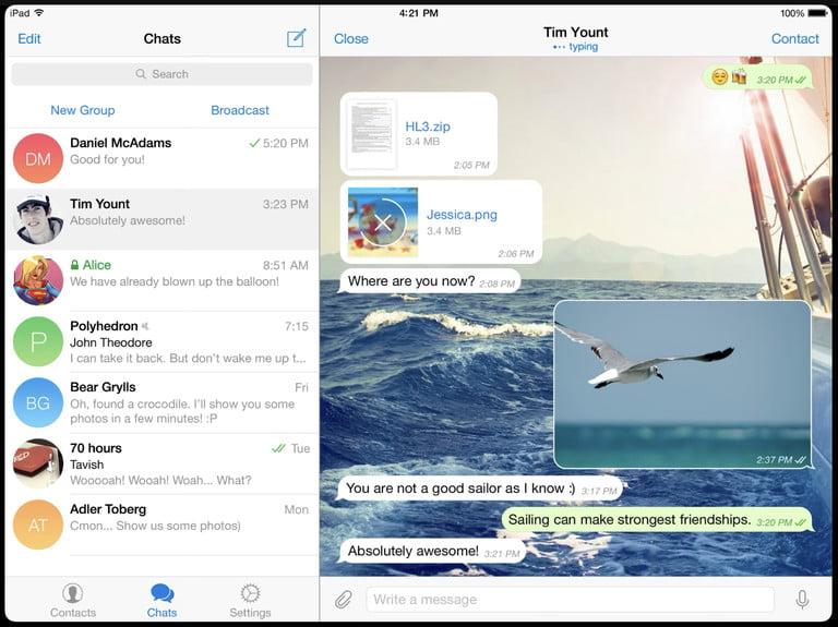 Telegram là gì? Tại sao người ta không dùng Messenger hay Zalo mà lại dùng Telegram 7