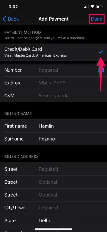Hướng dẫn chi tiết cách thêm phương thức thanh toán App Store 10