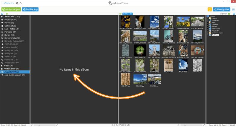 6 cách chép ảnh vào iPhone từ máy tính cực dễ, không cần dây hay iTunes phức tạp 22