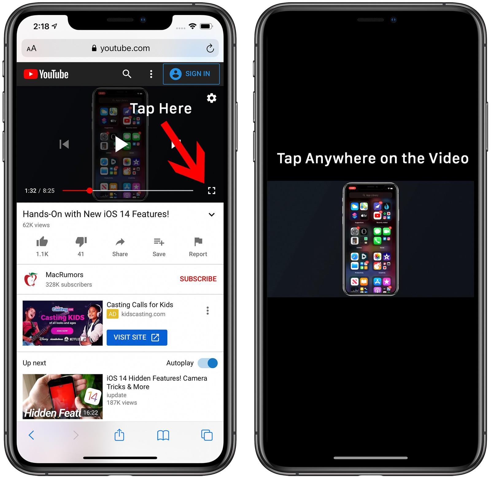 Cách thu nhỏ YouTube iPhone để xem YouTube trong khi làm việc khác 5