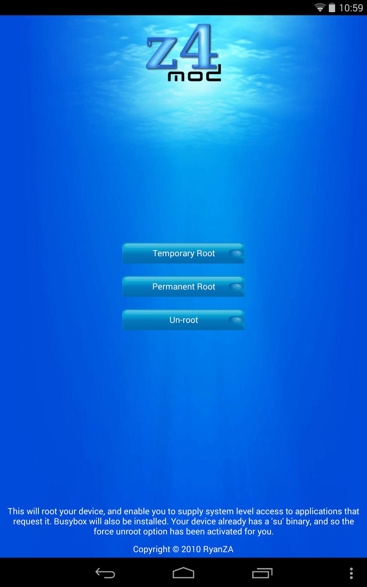 Hướng dẫn Root Android không cần máy tính chỉ trong 2 phút 2