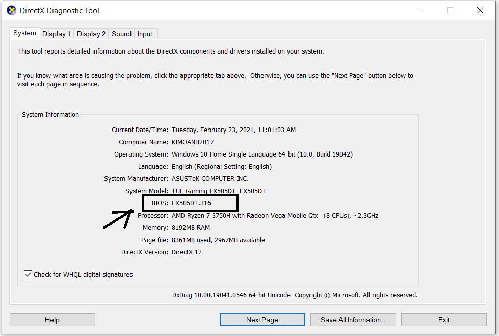 Hướng dẫn update BIOS dễ dàng cho các dòng máy tính hiện nay 10
