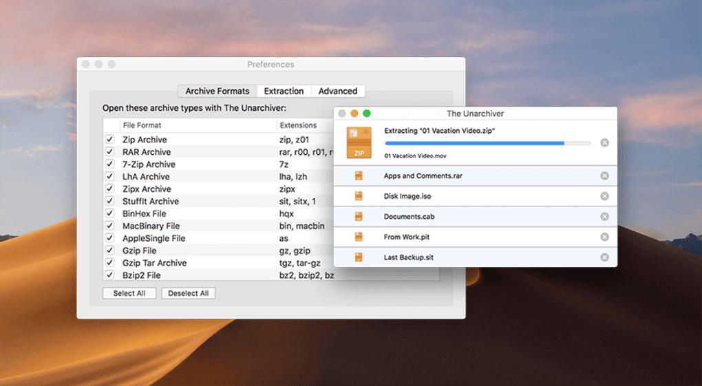 Top phần mềm giải nén cho Mac tốt nhất mà bạn cần biết 7