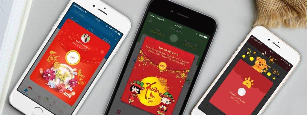 Top 3 app lì xì online giúp bạn trao gửi yêu thương khi Tết cận kề 1