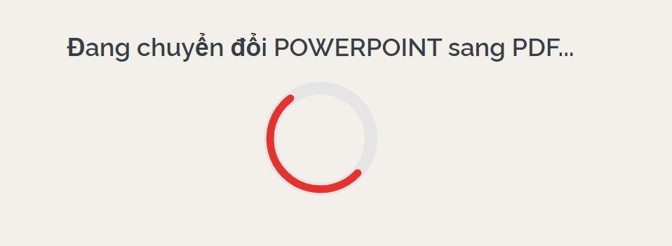 Chuyển PowerPoint sang PDF chỉ trong tích tắc