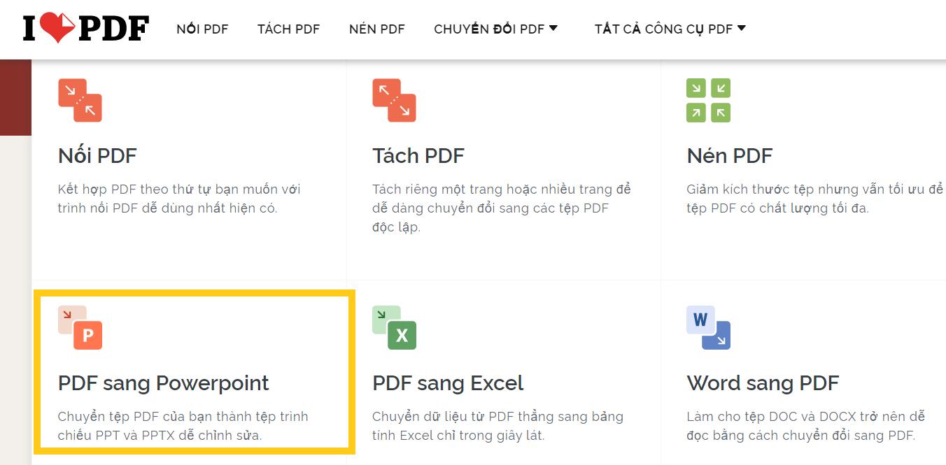 Hướng dẫn chuyển file PDF sang PowerPoint ai làm cũng được