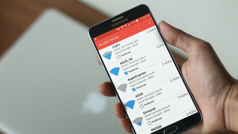 Hướng dẫn tự động bắt WiFi mạnh nhất cho điện thoại Android 6