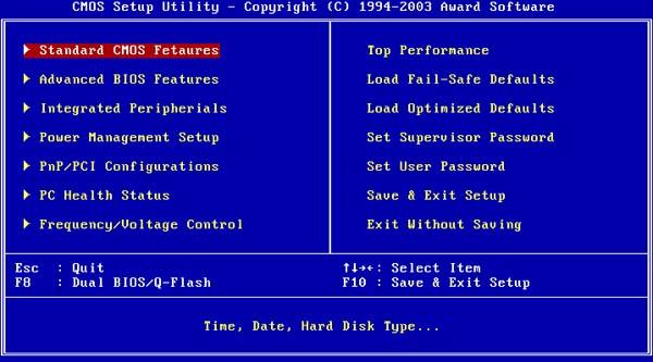Hướng dẫn cách vào BIOS cho các dòng máy tính khác nhau 7