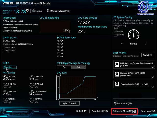 Hướng dẫn update BIOS dễ dàng cho các dòng máy tính hiện nay 7
