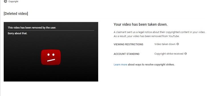 Cách gỡ bản quyền YouTube cho những ai đang hoang mang vì bị dính gậy bản quyền 2