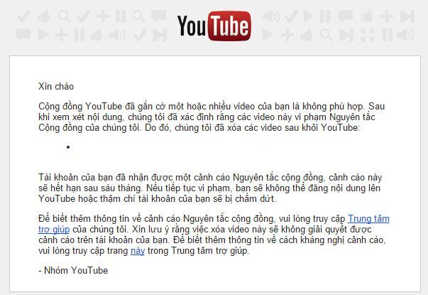 Cách gỡ bản quyền YouTube cho những ai đang hoang mang vì bị dính gậy bản quyền 3