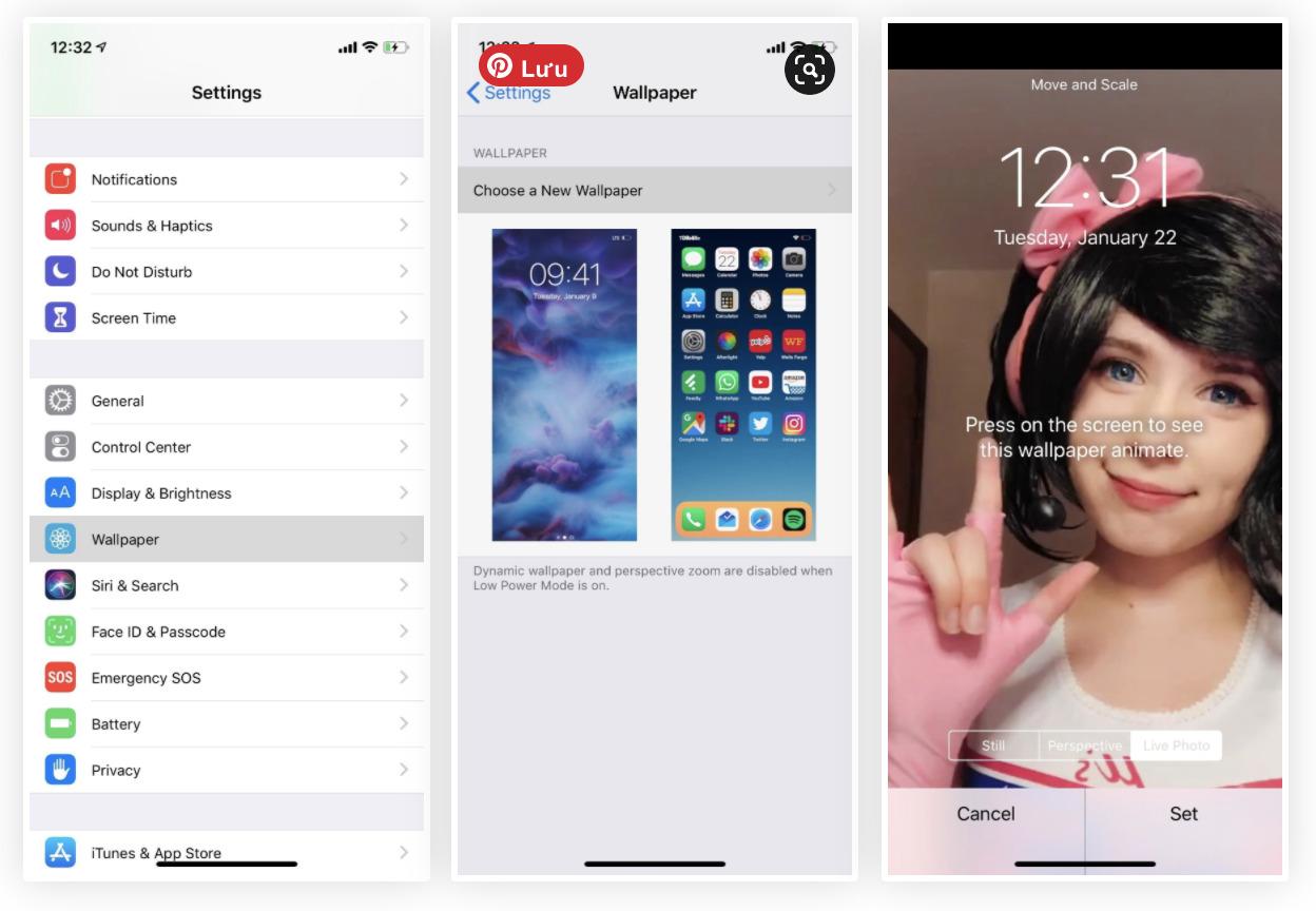 Cách lấy video Tik Tok làm hình nền điện thoại thêm phần sinh động 2
