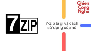 7-Zip là gì và cách sử dụng phần mềm giải nén vô cùng phổ biến này 59