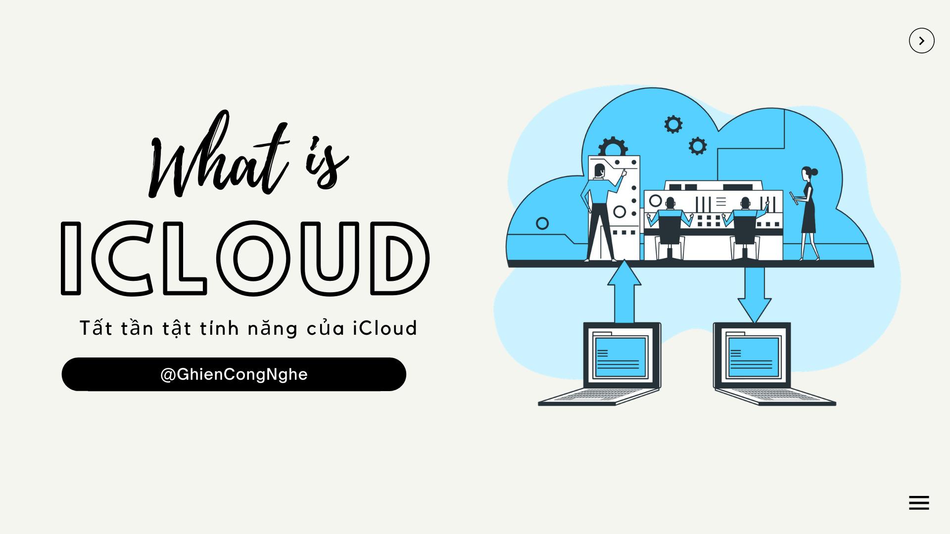 iCloud là gì và bật mí 1001 các tính năng của iCloud