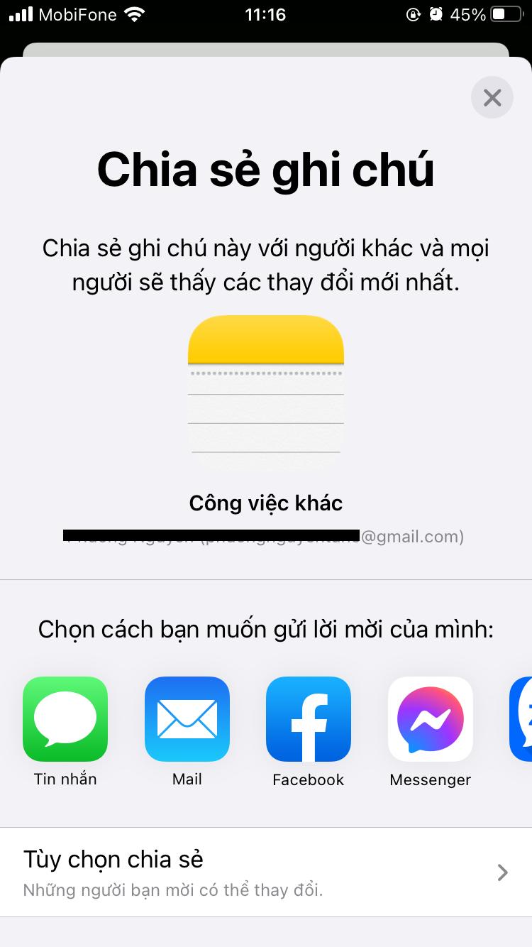 Cách chuyển ghi chú từ iPhone sang iPhone đúng chuẩn Trà Xanh, khó thế mà cũng nghĩ ra được 11