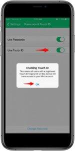 Cách khoá ứng dụng bằng vân tay iOS trong 1 nốt nhạc 27
